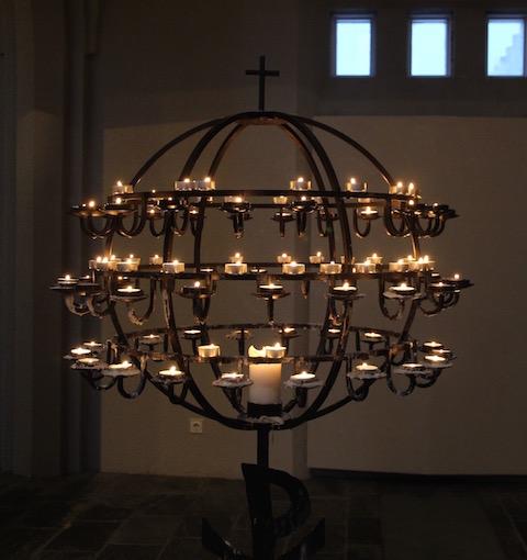 Hallgrímskirkja candelabra