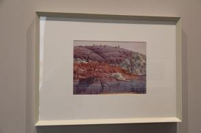 Finke River by Albert Namatajira