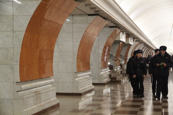 Park Pobedy station, Moscow