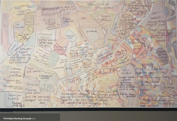 A sketch explaining the various elements of Yarrakalpa