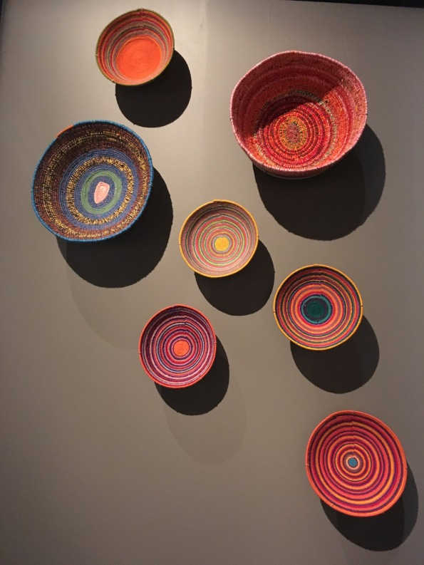Baskets by Martumili artists