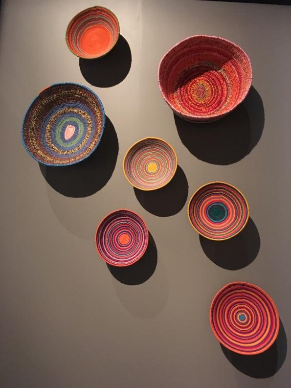 Baskets by Martumili artists