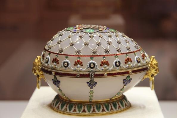 Renaissance Imperial egg (1894), Fabergé Museum