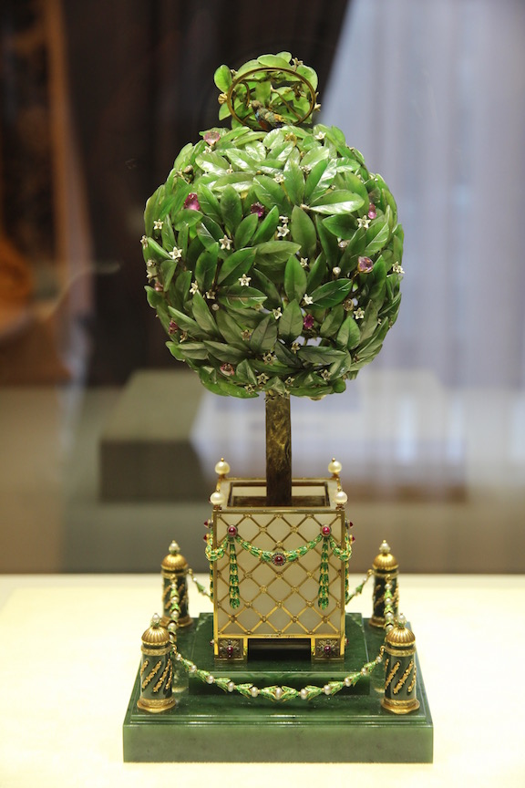 Bay Tree Imperial egg (1911), Fabergé Museum