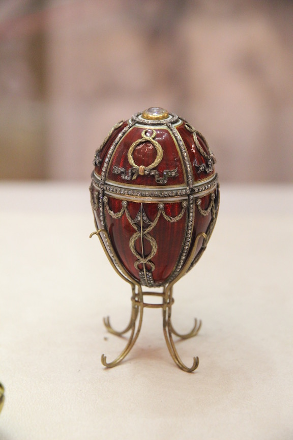 Rosebud Imperial egg (1895), Fabergé Museum