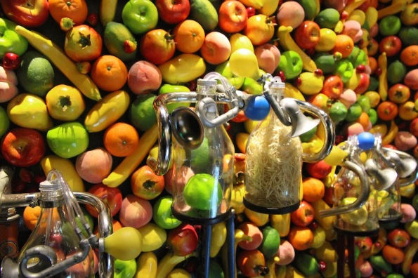 Fruit wall, d'Arenberg winery
