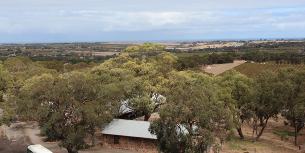 View over McLaren Vale