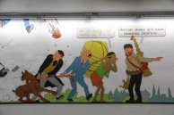 The Adventures of Tintin, Stockel Metro station