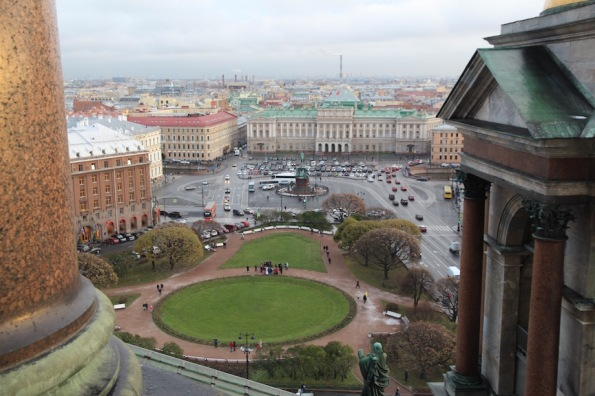 View from St Isaac's Cathedra, St Petersburg
