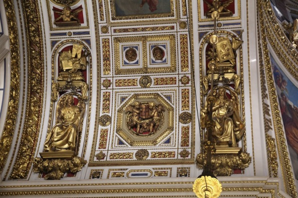 Ceiling, St Isaac's Cathedra, St Petersburg