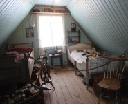 Bedroom, Árbær Open Air Museum