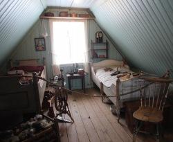 Bedroom, Árbær Open Air Museum