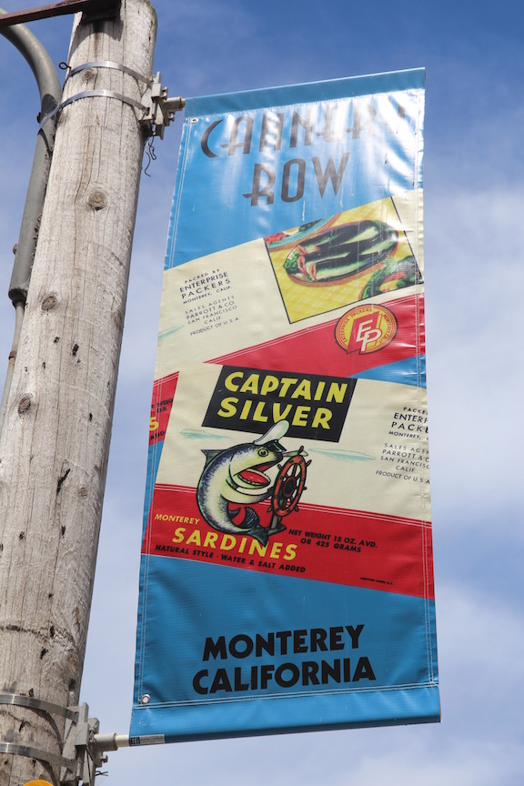 Cannery Row banner