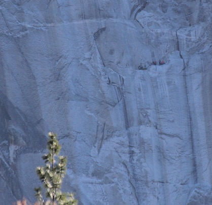 Climbers at El Capitan, Yosemite
