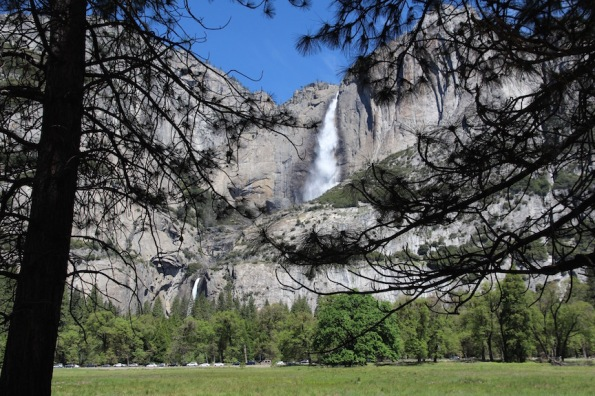 Yosemite Falls, upper and lower