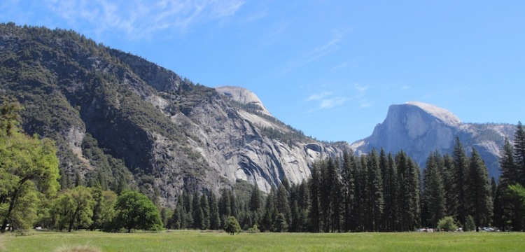 Cook's Meadow and Half Dome, Yosemite