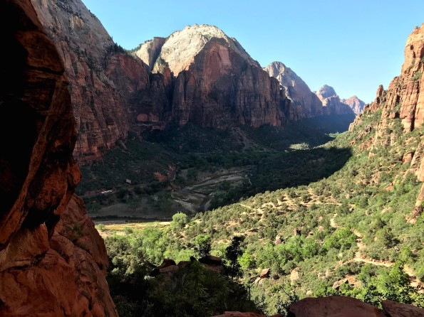 View from Angels Landing, Zion National Park