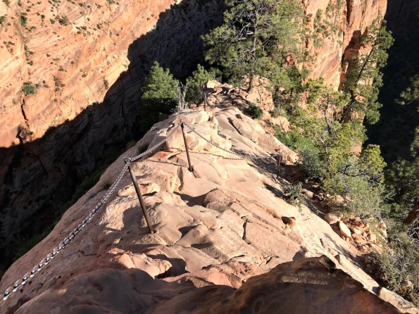 Angels Landing, Chains, Zion National Park