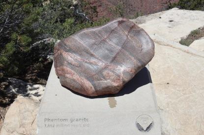 Phantom granite, 1.662 million years old