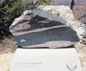 Horn Creek granite, Grand Canyon