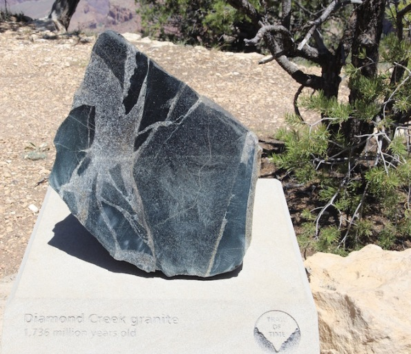 Diamond Creek granite, Grand Canyon