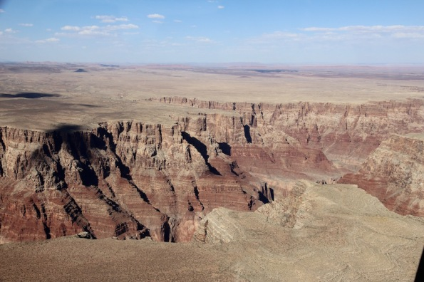 Near the north rim of the Grand Canyon