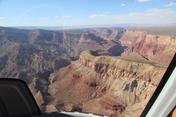 Grand Canyon from the air
