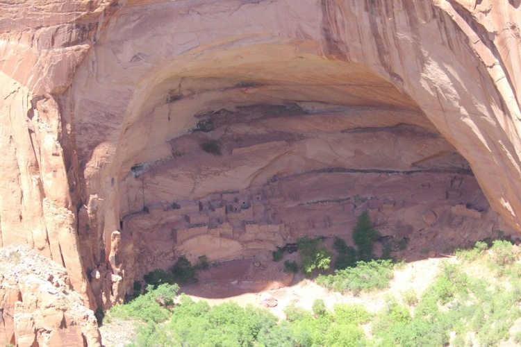 Betatakin cliffs dwellings in the Navajo National Monument