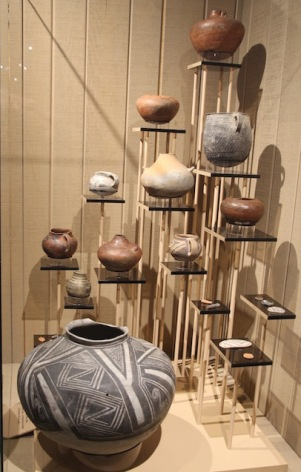 Pottery collection, Navajo National Monument visitor centre