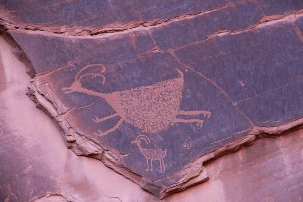 Rock art, Monument Valley
