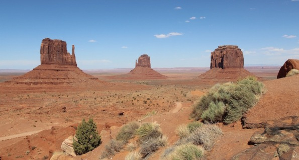 The Mittens and Merrick Butte, Monument Valley