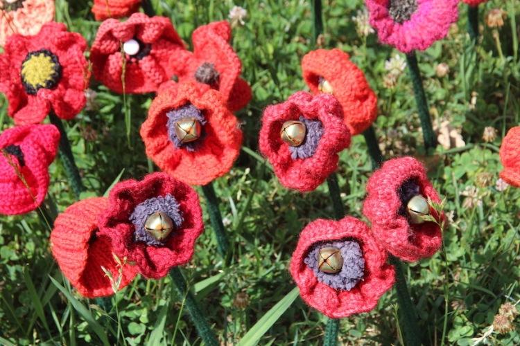 Poppies at Aussie War Memorial