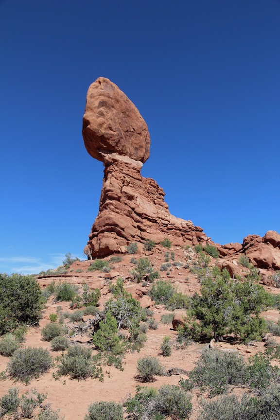 The Balanced Rock, Arches National Park