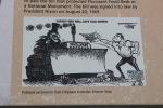 Editorial cartoon, Florissant Fossils Beds