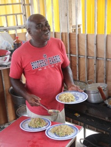 Ghanaian cook
