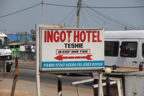 Ingot Hotel, Ghana