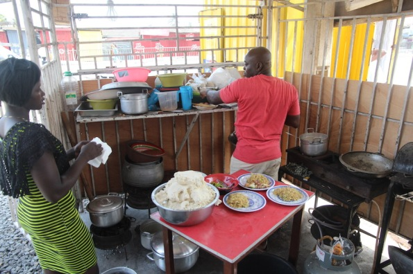 Kitchen, Accra, Ghana
