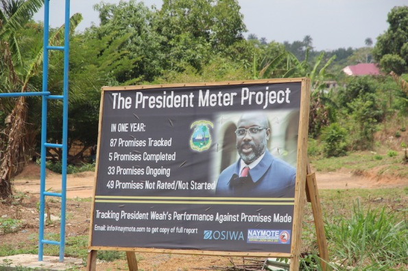 President Meter Project, Liberia