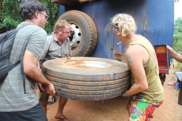 Re-storing a tyre