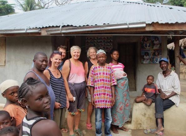 Byama chief and his wife, Sierra Leone