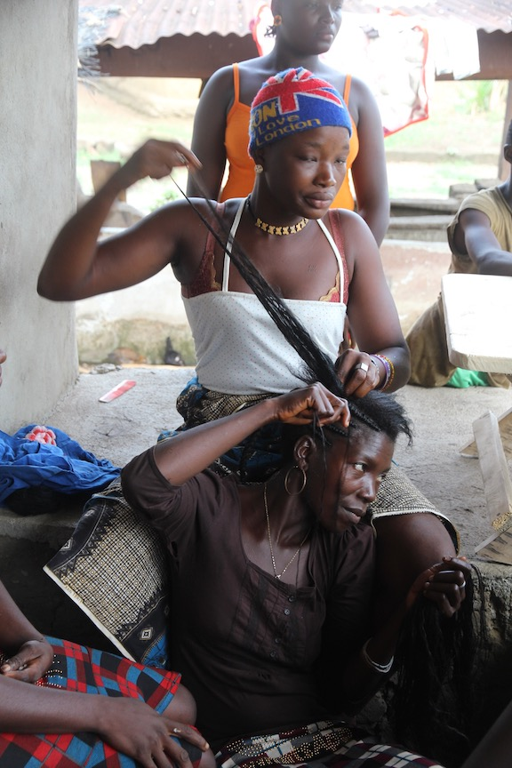 African hairdressing
