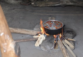 Cooking stew and chillies