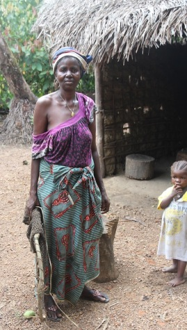 Villager, Sierra Leone