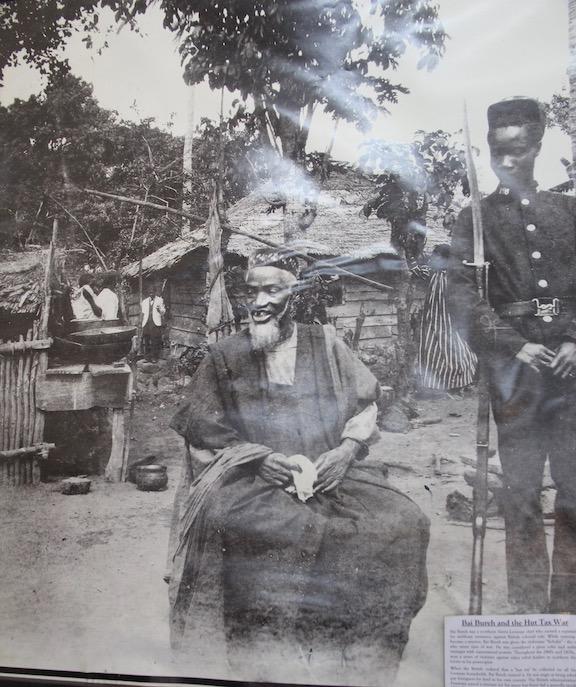 Bai Bureh, Sierra Leone rebel