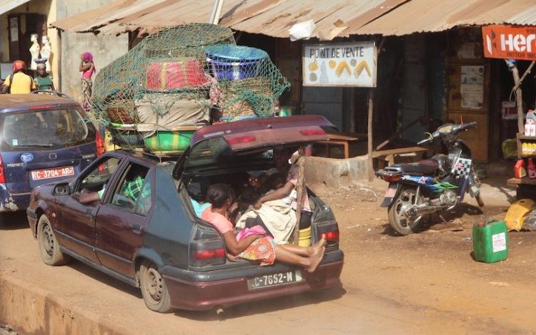 Traffic in Guinea