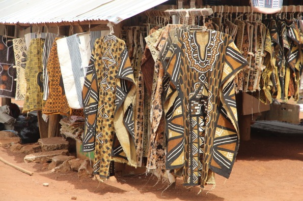 Korhogo cloth in the mud cloth style