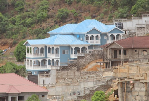 House in Freetown, Sierra Leone