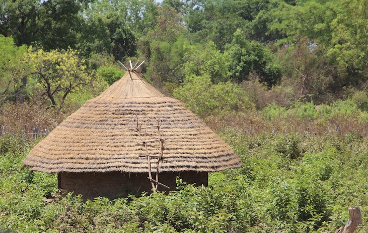 Finished roof, Africa