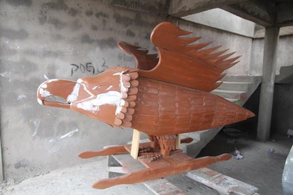 Eagle coffin