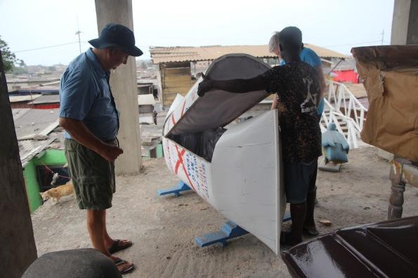 Flour bag coffin